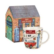 Churchill At Your Leisure The Mechanic Mug in Hatbox
